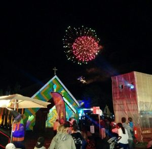 Projection and Lighting show